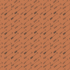 Brown Arrow fabrics design
