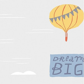 Adventure hot air balloon fabrics design