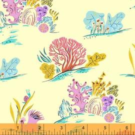 Bright Coral fabrics design