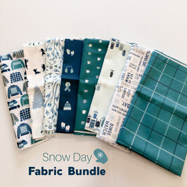 Snow Day Fabric Bundle quilt cotton fabrics design
