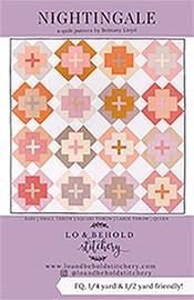 Nightingale Quilt fabrics design
