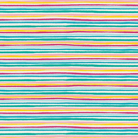 Colorful Stripe cotton fabrics design