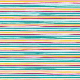 Colorful Stripe cotton fabrics design