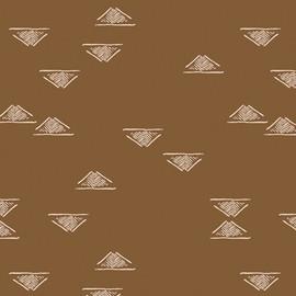 Brown low volume fabrics design