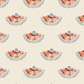Cocooning cotton Fabrics design