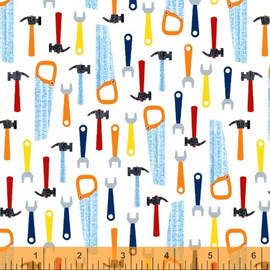Kids Work Tools cotton fabrics design