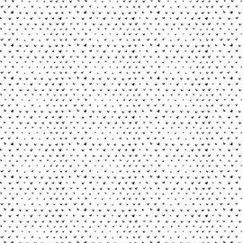 Tiny hearts white fabric - Dear Stella Hearts in Raven cotton QTR YD
