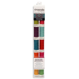 Crossroads Thread Pack Sulky 12 wt cotton Petites 10 count Broadway Collection