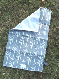 Gray Arrow Travel Changing Pad