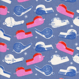 Whistles cotton fabric, Melody Miller Cotton + Steel Trinket fabric, QTR YD