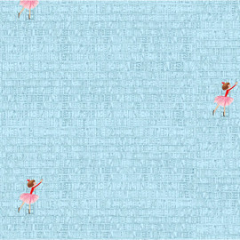 At the Library Blue, Lola Dutch fabric Michael Miller cotton fabric, QTR YD