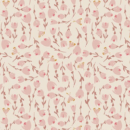 Discovered Rosewood floral fabrics design