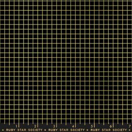 Black gold grid quilt cotton fabrics design
