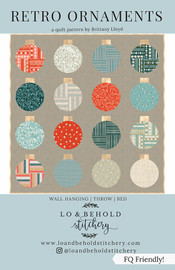 Retro Ornaments Quilt