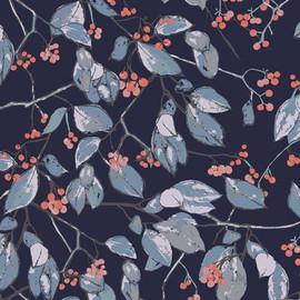 Serein Branchlet floral fabrics design