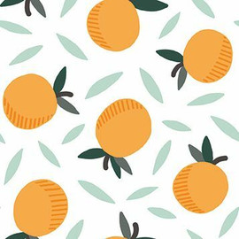 Oranges fruit quilt cotton fabrics design