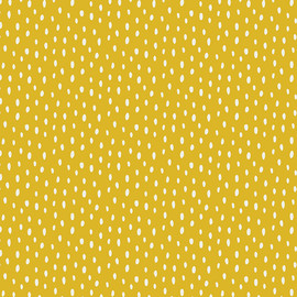 Yellow Scattered Showers cotton fabric, Art Gallery Fabrics Day Trip, QTR YD