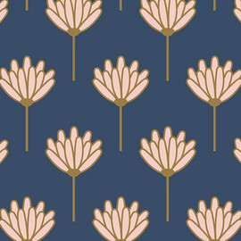 Floret Sunkissed cotton fabrics design