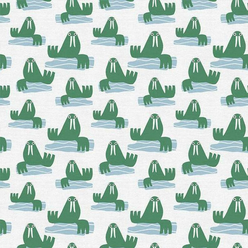 Walrus kids cotton Fabrics design