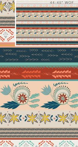 Gentle Mantle Land fabrics design