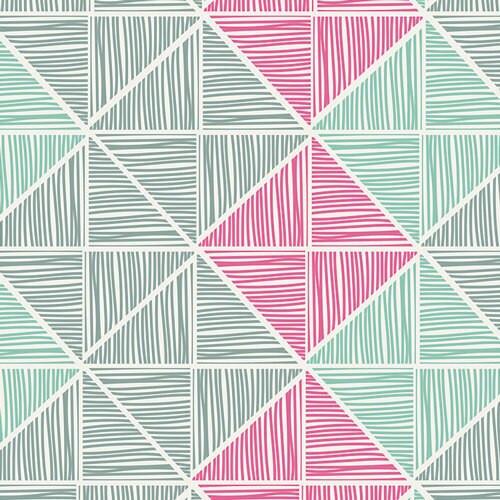 Chalk & Paint Angular Strings Coated fabrics design