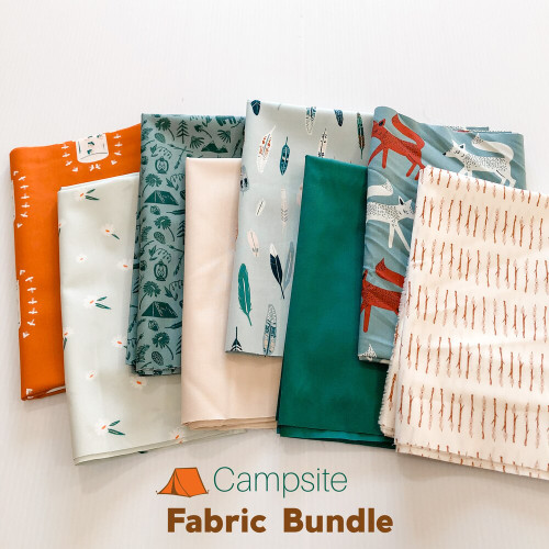 Campsite Fabric Bundle quilt cotton fabrics design