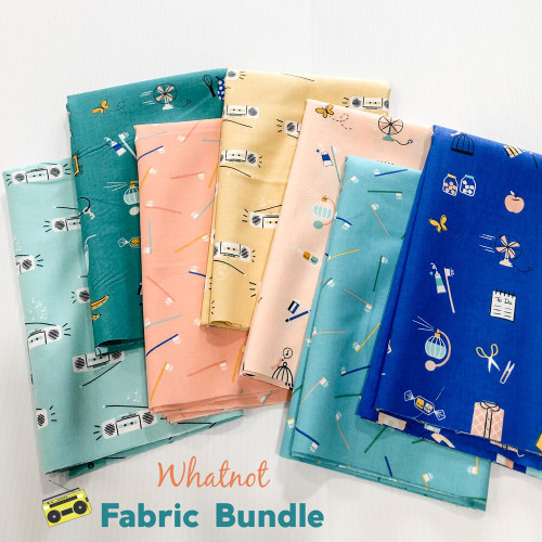Whatnot Fabric Bundle quilt cotton fabrics design