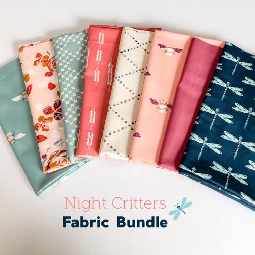 Night Critters 8-piece Fabric Bundle quilt cotton - Art Gallery Fabrics