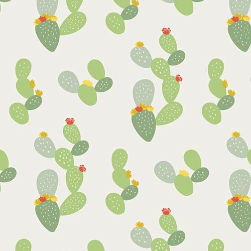 Prickly Cactus fabrics design