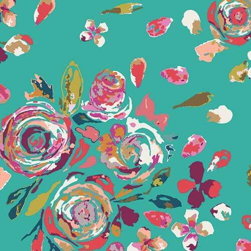 Swifting Flora Boho Fusions cotton Fabrics design