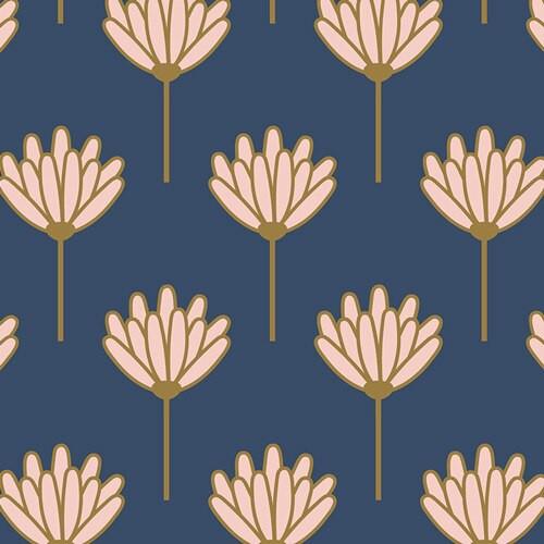 Floret Sunkissed cotton fabrics design