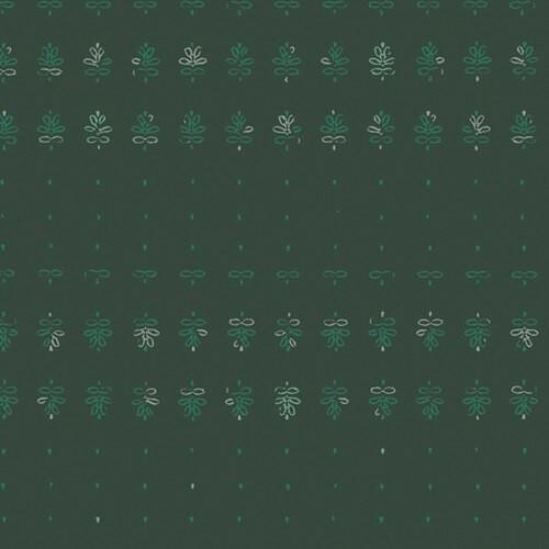 Dark green low volume Fabrics design