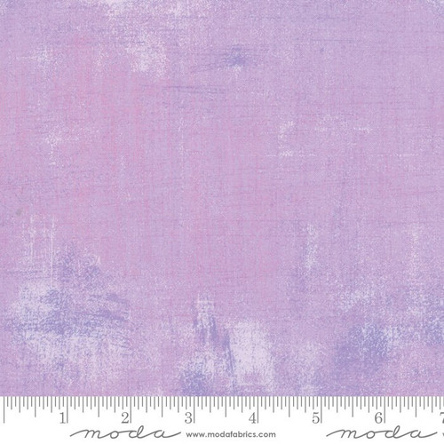 Lavender Freesia Grunge Grey cotton fabrics design
