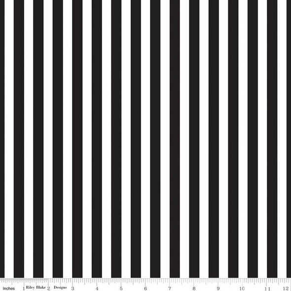 Black Stripe cotton fabrics design