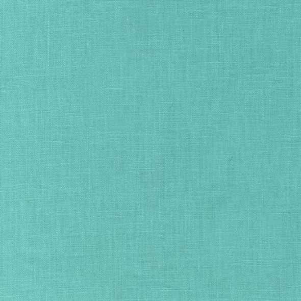 Aqua Essex Linen solid Fabrics design