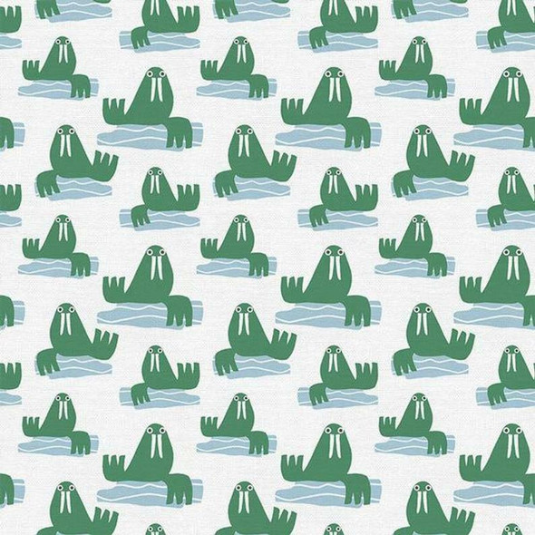 Walrus kids cotton Fabrics design