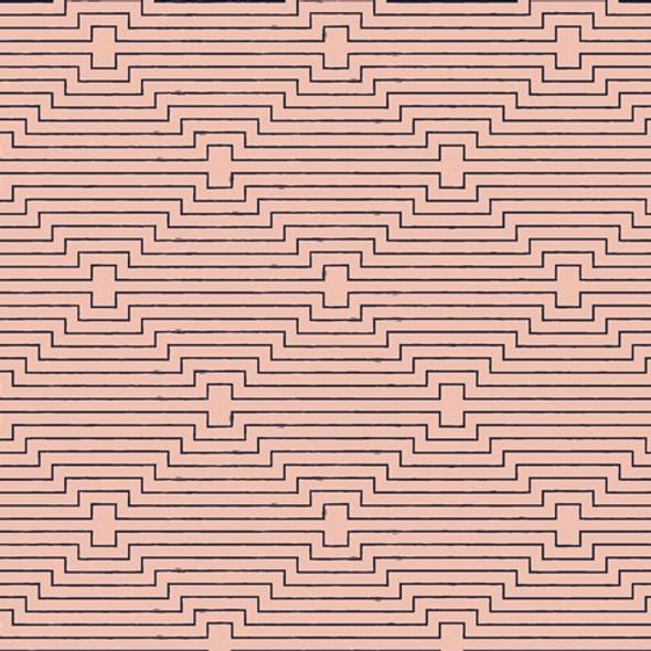 Pink Modern Geometric fabrics design