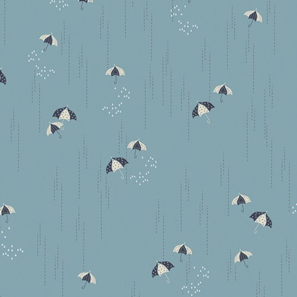 Blue Umbrella Charleston AGF cotton Fabrics design