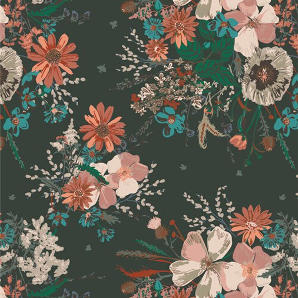 Painted Prairie Anthesis cotton fabrics design