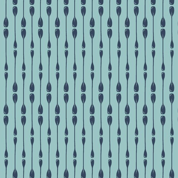 Paddle Rows cotton fabrics design