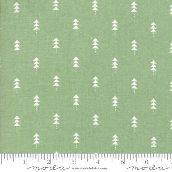 Green Christmas tree Fabrics design