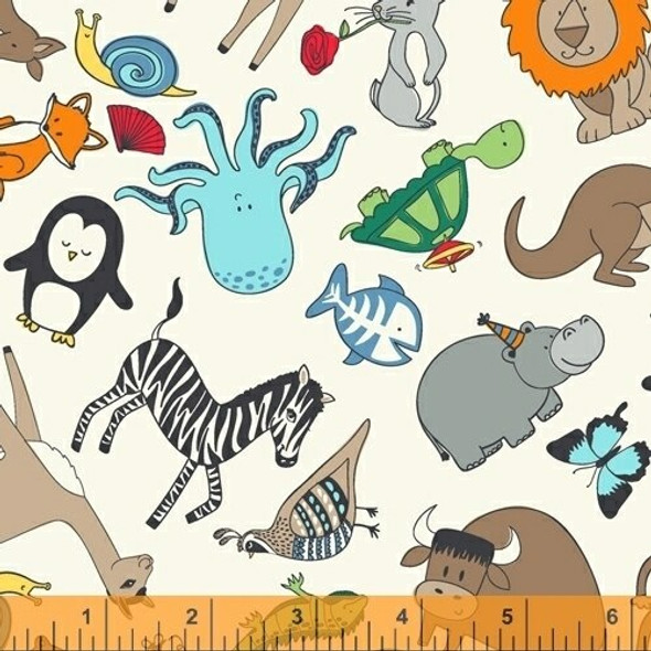 Kids animals cotton quilt cotton fabrics design