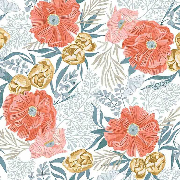 Dear Stella cotton Poppy Prairie fabrics design