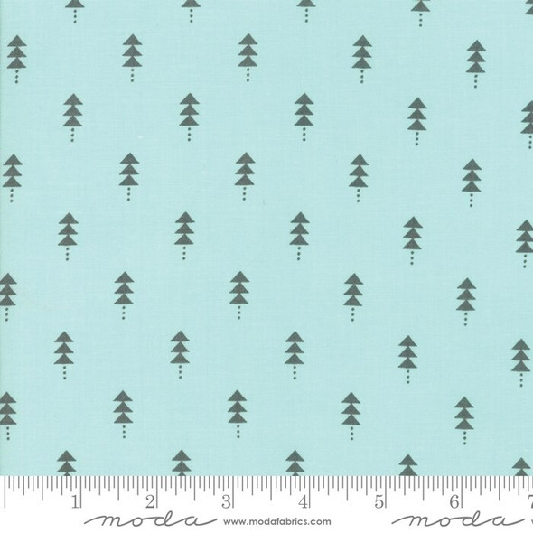 Blue Christmas tree Fabrics design