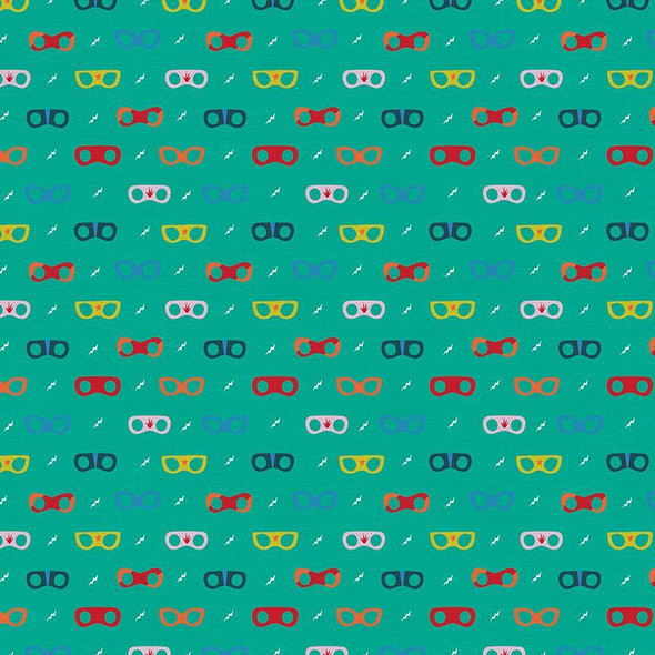 Super power mask cotton fabrics design