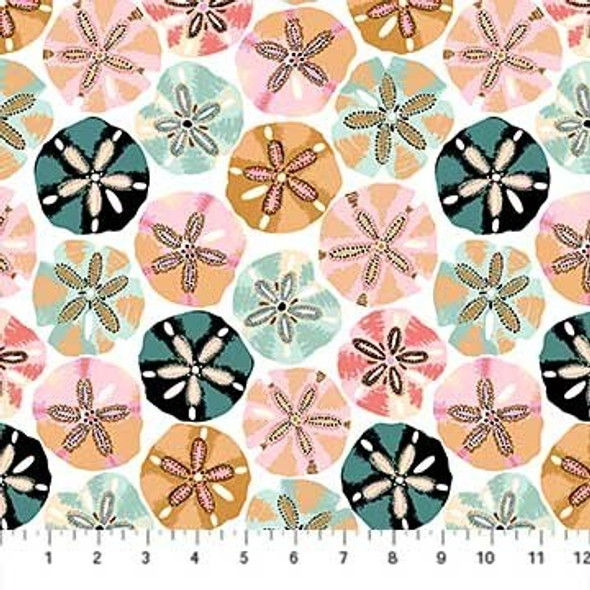 Sand Dollars sea fabrics design