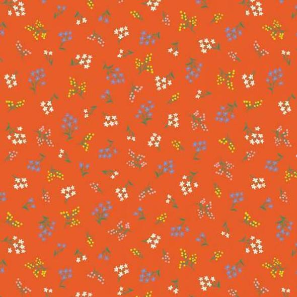 Rifle Red Petites Fleurs fabrics design
