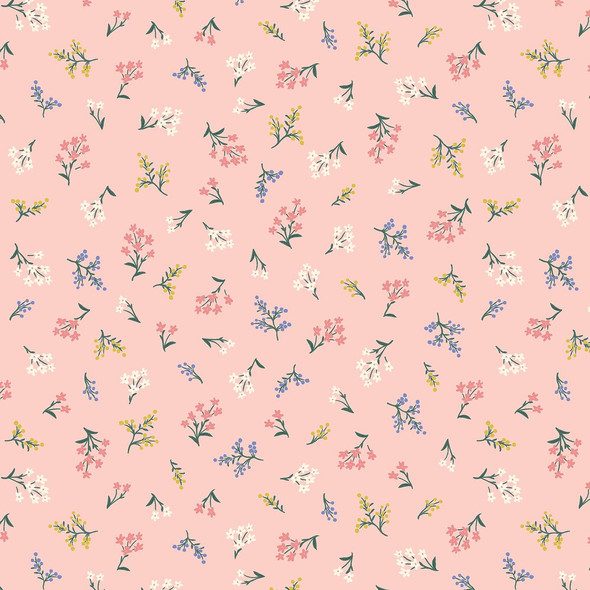 Blush Petites Fleurs Fabrics design