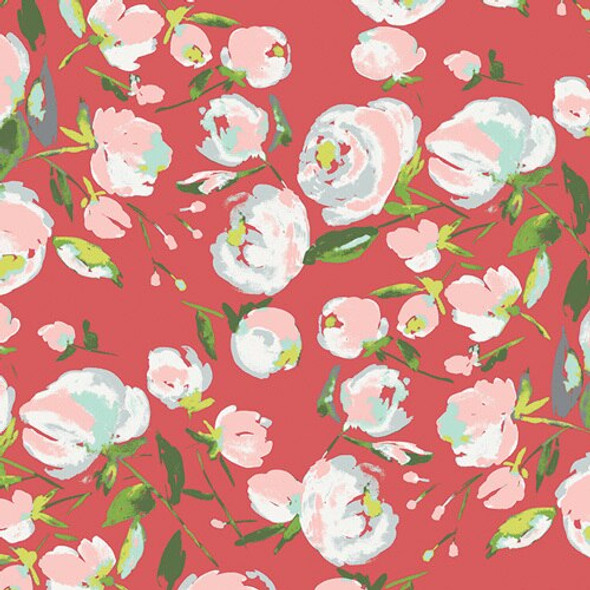 Everlasting Blooms Berry fabrics design