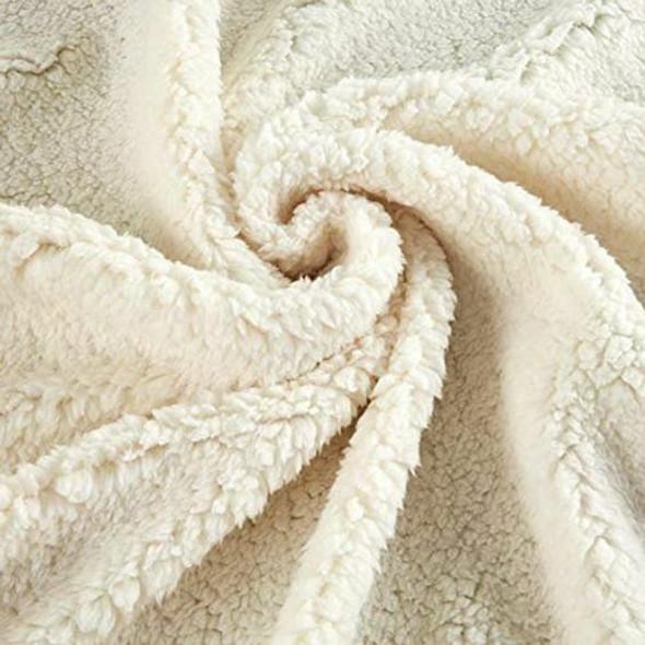 Ivory Sherpa fur Fabrics design
